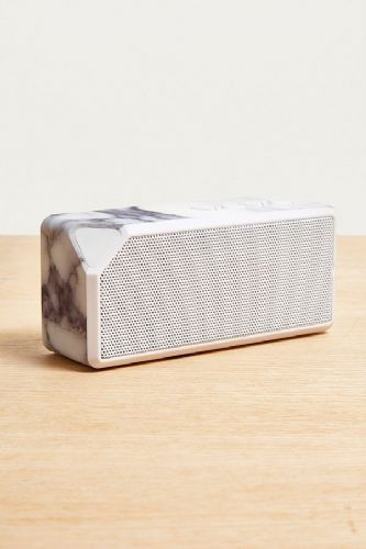White Marble Mini Bluetooth Speaker - Portable Wireless Speaker